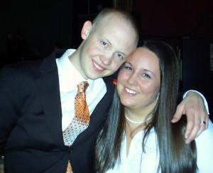 Isaac & I at his wedding