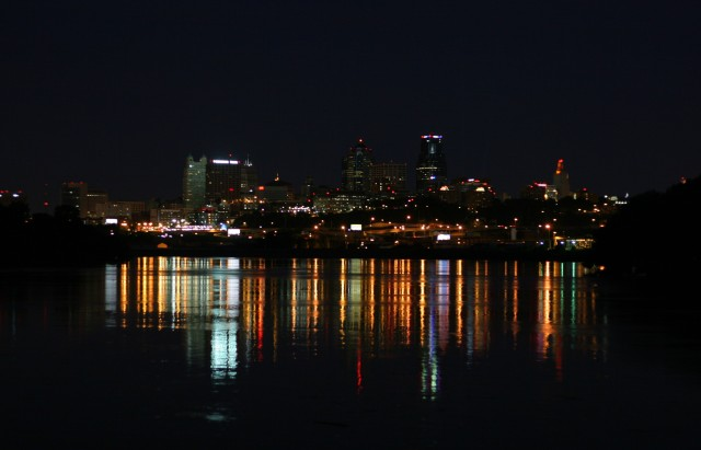 Kaw Point in the Black by h.wilson