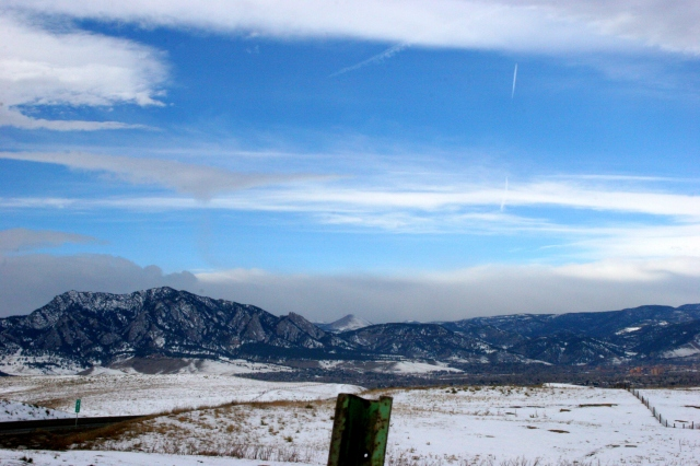 Scenic Overlook of Boulder by h.wilson